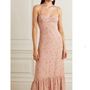 NWT Reformation floral Bridesmaid Maxi Dress 8